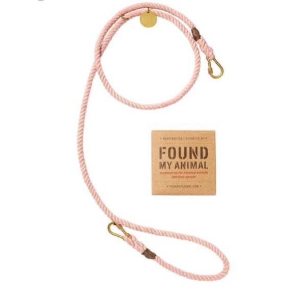 """Found my Animal"" Adjustable Leash"